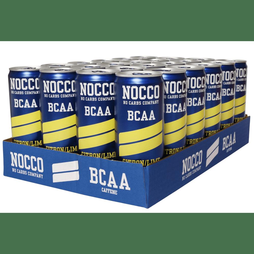 Nocco BCAA 24x330ml citroen kalktte