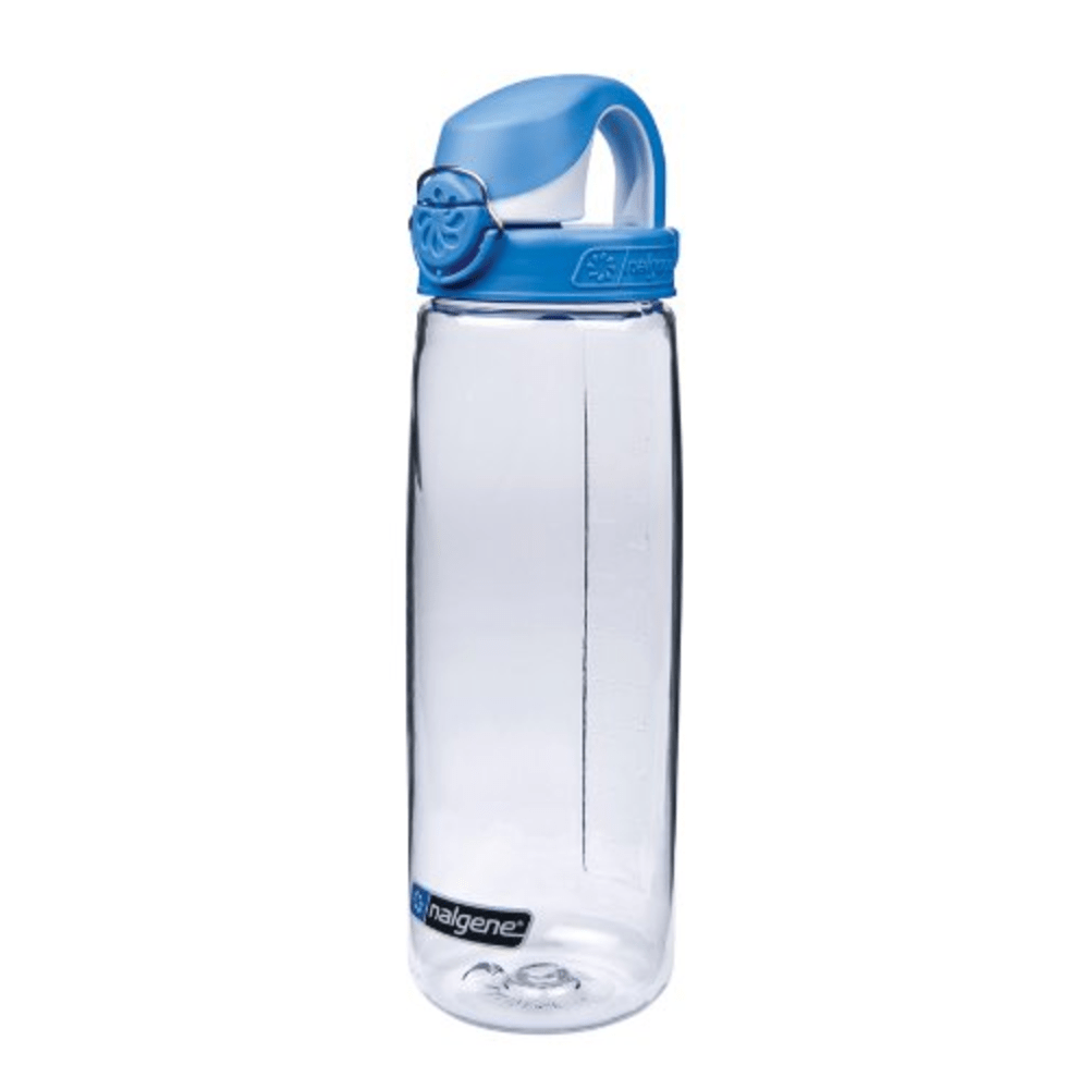 Drinking Bottle Everyday Otf 700ml transparent lid blue