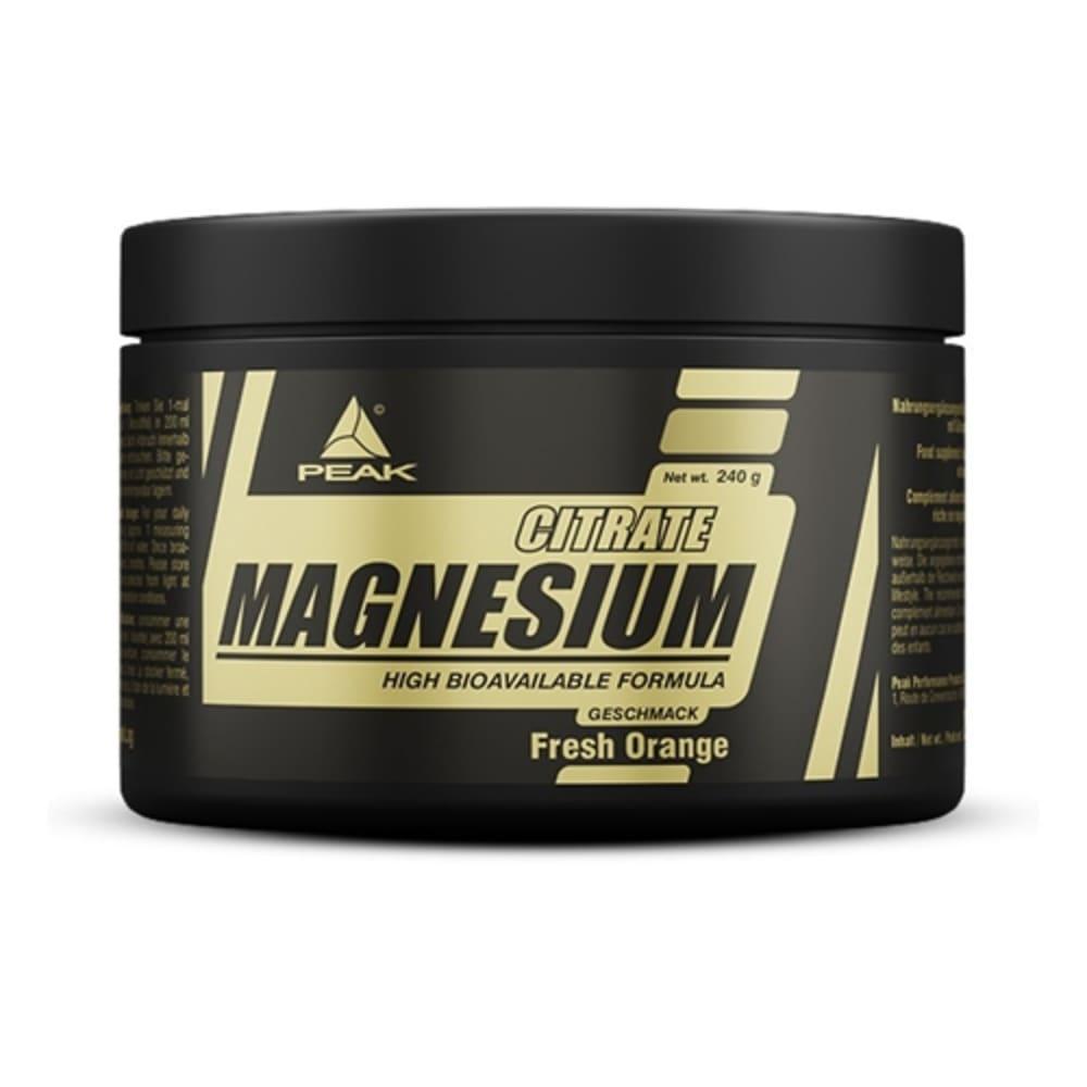 Magnesium Citrate oranje (240g)