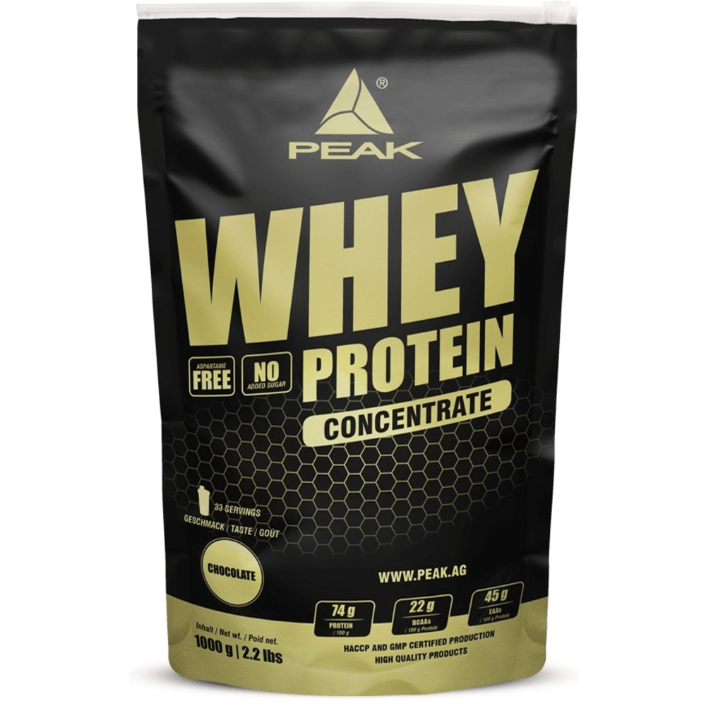 Whey eiwit Concentrate 1000g pistache