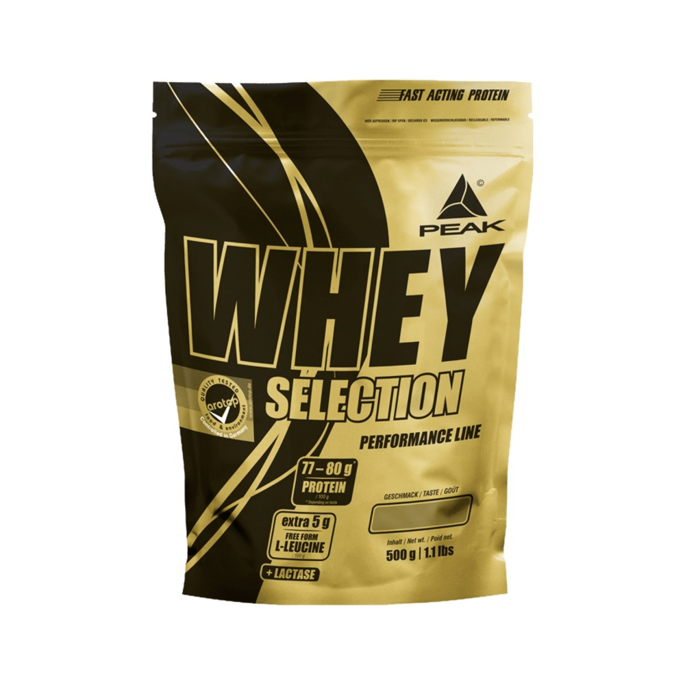 PEAK Whey Selection 500g Vanilla