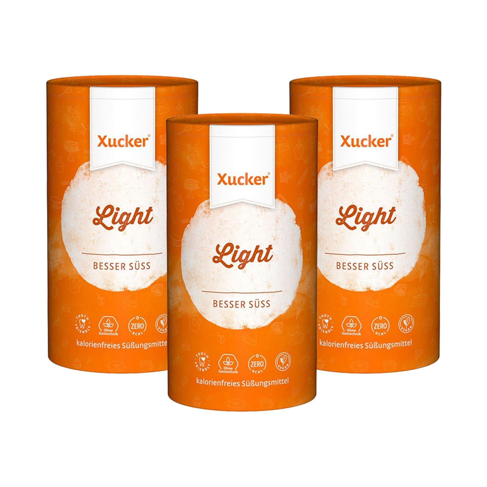 3 x Xucker light europ. Erythrit (3x1000g) von Xucker