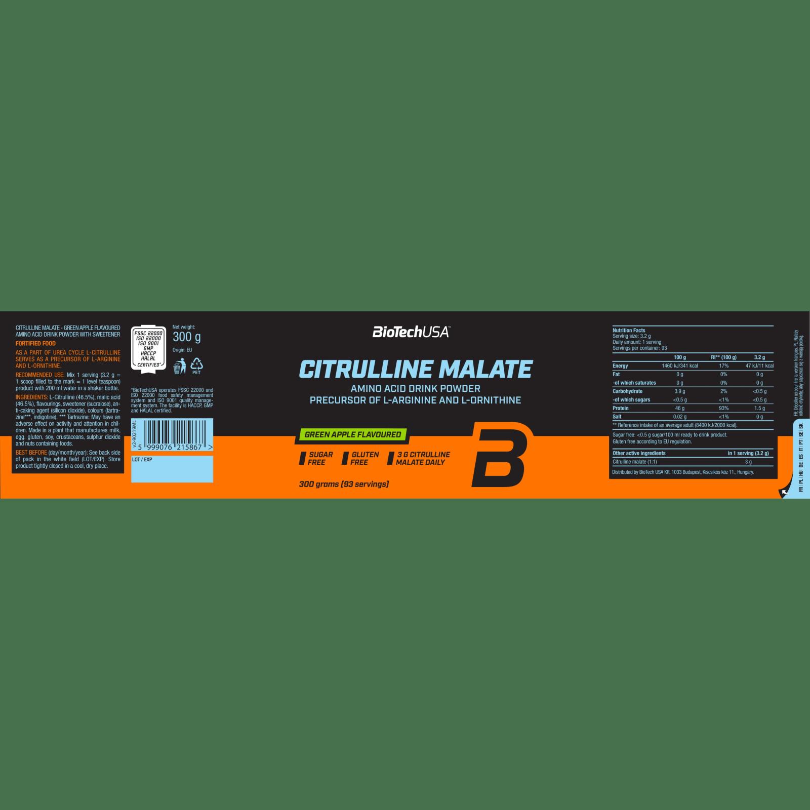 citrulline malate dosering