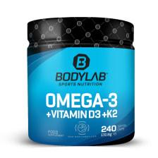 Omega 3 + D3 + K2 (Omega-3 Triglycerid + Vitamine) (240 Kapseln)