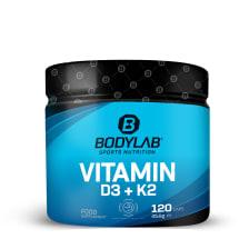 Vitamin D3 + K2 (120 Kapseln)