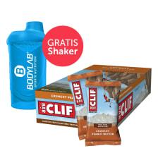 Clif Bar (12x68g) + Bodylab 24 Shaker