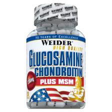 Glucosamine + Chondroitin Plus MSM (120 Kapseln)