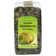 Kürbiskerne geröstet bio (500g)
