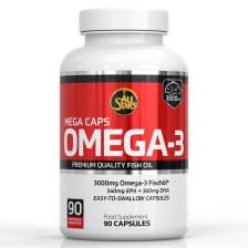 Mega Caps Omega-3 (90 Kapseln)