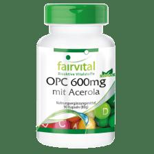 OPC 600mg mit Acerola (90 Kapseln)