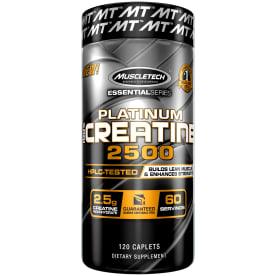 Essential Series Platinum 100% Creatine 2500 (120 Kapseln)