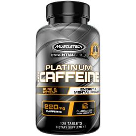 Essential Series Platinum 100% Caffeine (125 Tabletten)