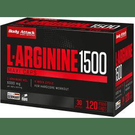 L-arginine 1500 (120 caps)