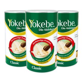 Yokebe Aktivkost Classic Dreierpack (3x500g)