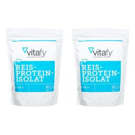 2 x Reisproteinisolat (2x1000g)