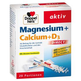 Magnesium + Calcium + D3 Direct (20 Portionen)