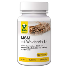 MSM mit Weidenrinde (90 Kapseln)