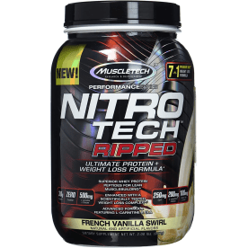 Performance Series Nitro-Tech Ripped - 903g - French Vanilla Swirl
