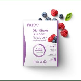Diet Shake - 12x32g - Blueberry Raspberry