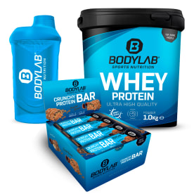 BACK TO GYM DEAL mit Crunchy Protein Bars