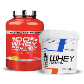 100% Whey Protein Professional (2350g) + Bodylab24 Whey Protein (1000g)