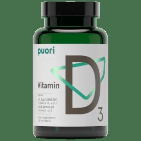 D3 - Vitamin D3 2500 IE (120 capsules)