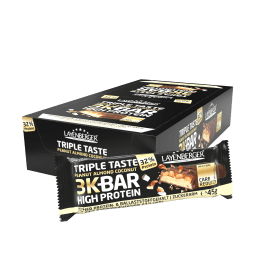 3K High Protein Bar Triple Taste Peanut Almond Coconut (21x45g)