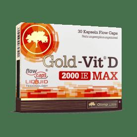 Gold-Vit D MAX 2000 (30 capsules)