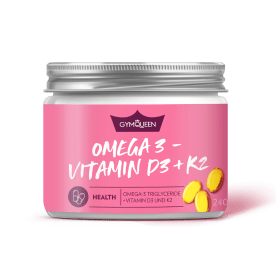Omega 3 - Vitamin D3 + K2 (240 Kapseln)