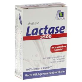 Lactase 3500 FCC (100 Tabletten)