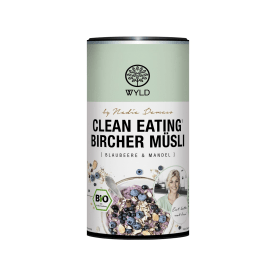 "Bio Clean Eating* Bircher Müsli Blaubeere & Mandel ""by Nadia Damaso"" (350g)"