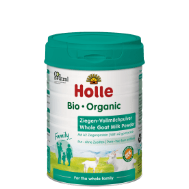 Bio-Ziegen-Vollmilchpulver, für die ganze Familie* (400g)