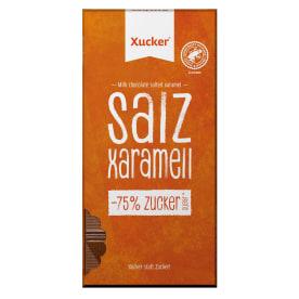 Vollmilch Xylit-Schokolade Salz-Karamell (80g)