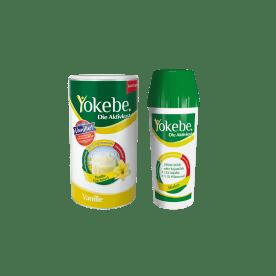 Yokebe Aktivkost Vanille Pulver Lactosefrei Starterpaket inkl. Shaker