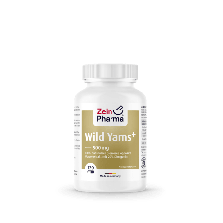 Wild Yams Plus 500mg (120 capsules)