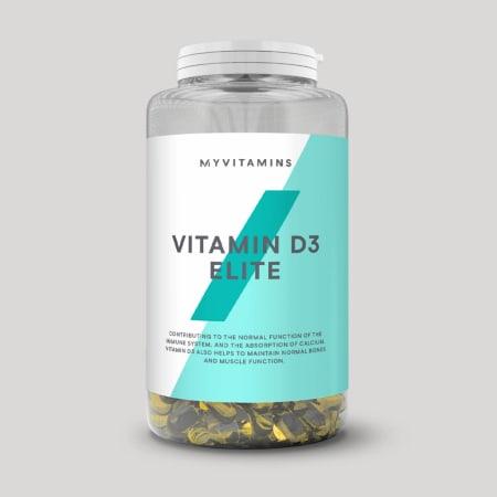 Vitamine D3 (180 capsules)