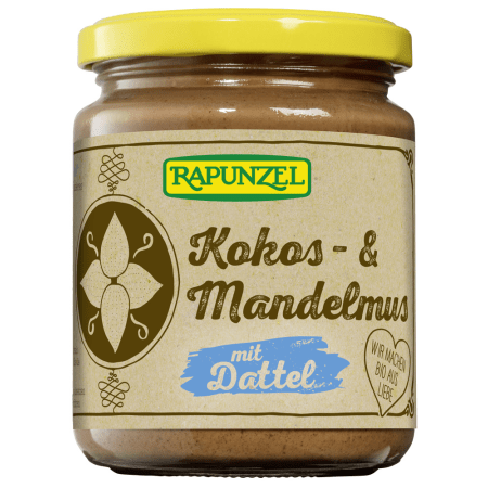 Coconut & Almond paste with Date bio (250g)