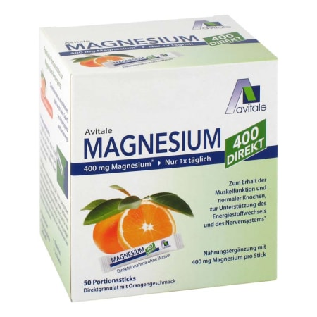 Magnesium 400 direkt (50x2,1g)