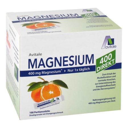 Magnesium 400 direkt (100x2,1g)