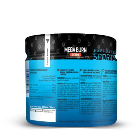 Mega Burn Extreme (120 capsules)