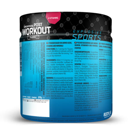 Concentrated Post Workout (375g)