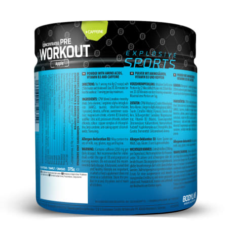 Concentrated Pre Workout - 375g - Grüner Apfel