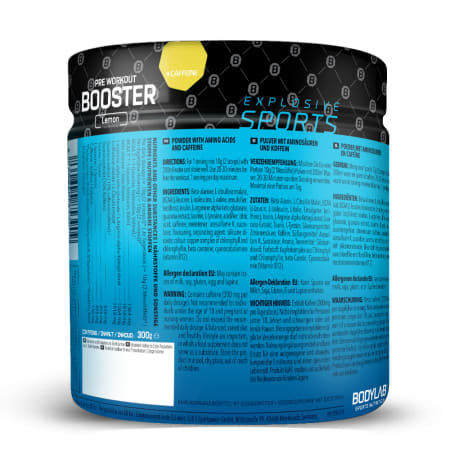 Pre Workout Booster (300g)