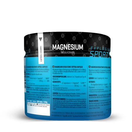 Magnesium Bisglycinate (120 capsules)