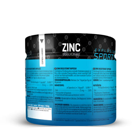 Zinc Bisglycinate (120 Kapseln)