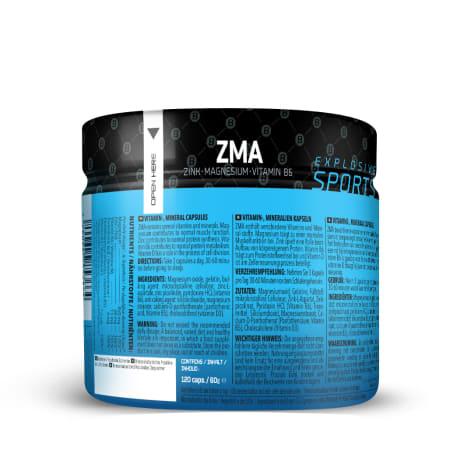 ZMA - Zink-Magnesium-Vitamine B6 (120 capsules)