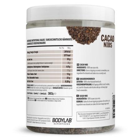 Cacao Nibs Raw (360g)