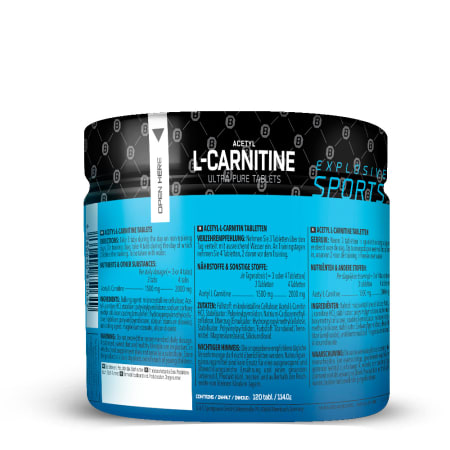 Acetyl L-Carnitine (120 Tabletten)