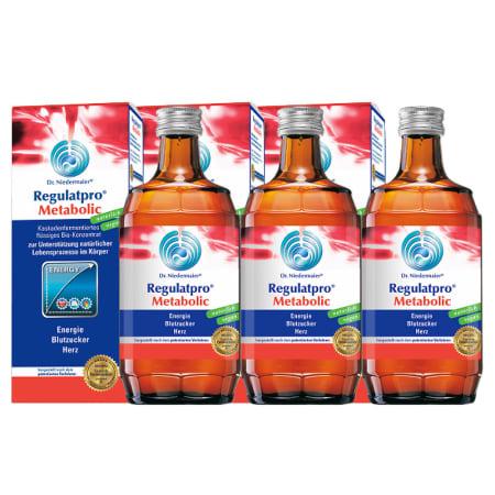 3x Regulatpro Metabolic (3x350ml)