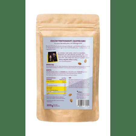 Low Carb Mandelkuchen Backmischung (300g)